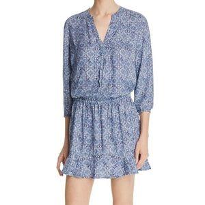 Soft Joie Blue Drop Waist Dress